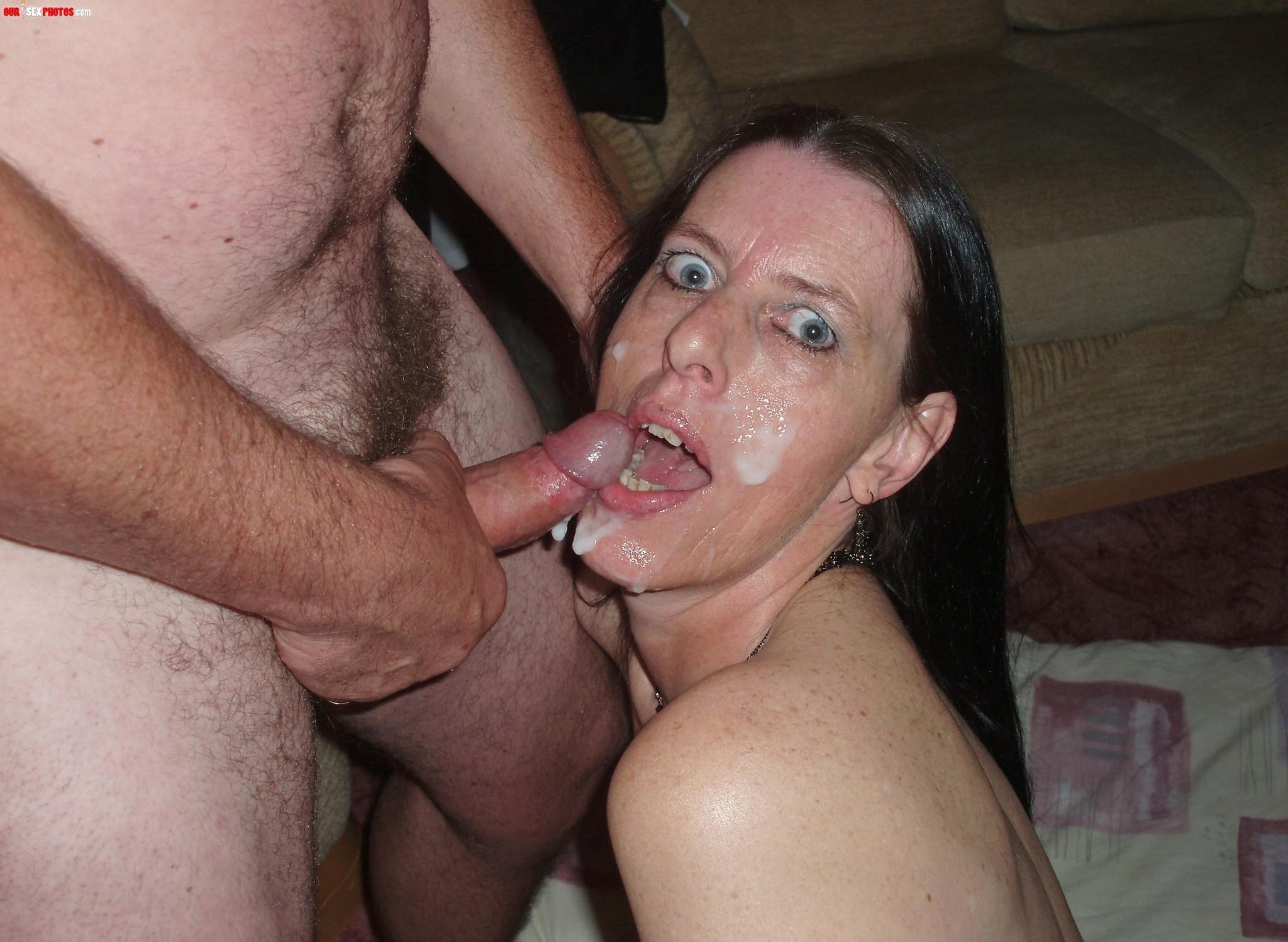 С хуя сперма на лиц 9 фотография