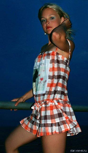 Фотографии  с голой известной фото моделью Ольгой  Лукьяненко