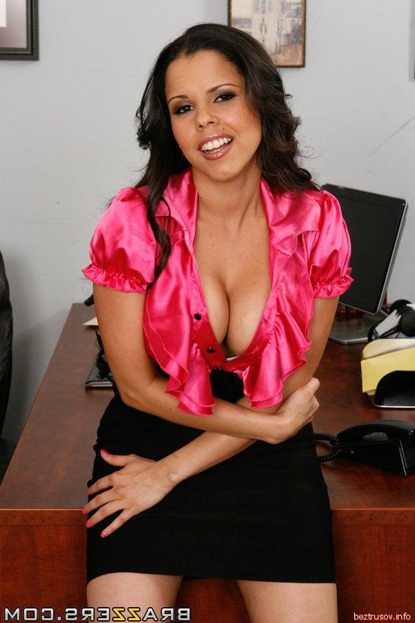 Секс с гламурной секретаршей
