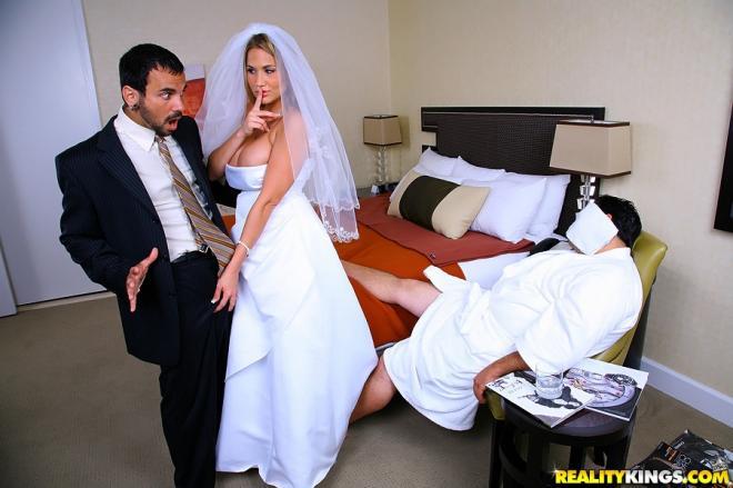 Гламурный минет на свадьбе — 10