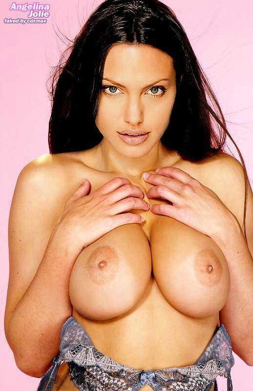 Angelina Jolie голой ебётся и сосёт хуй